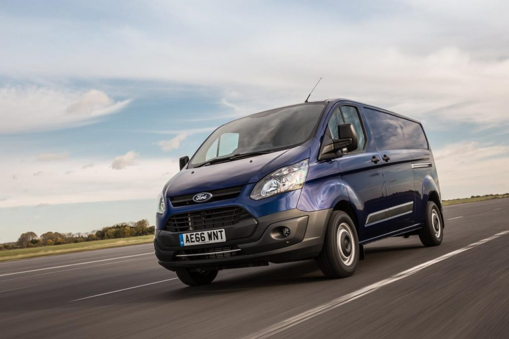Test drive Ford Vans
